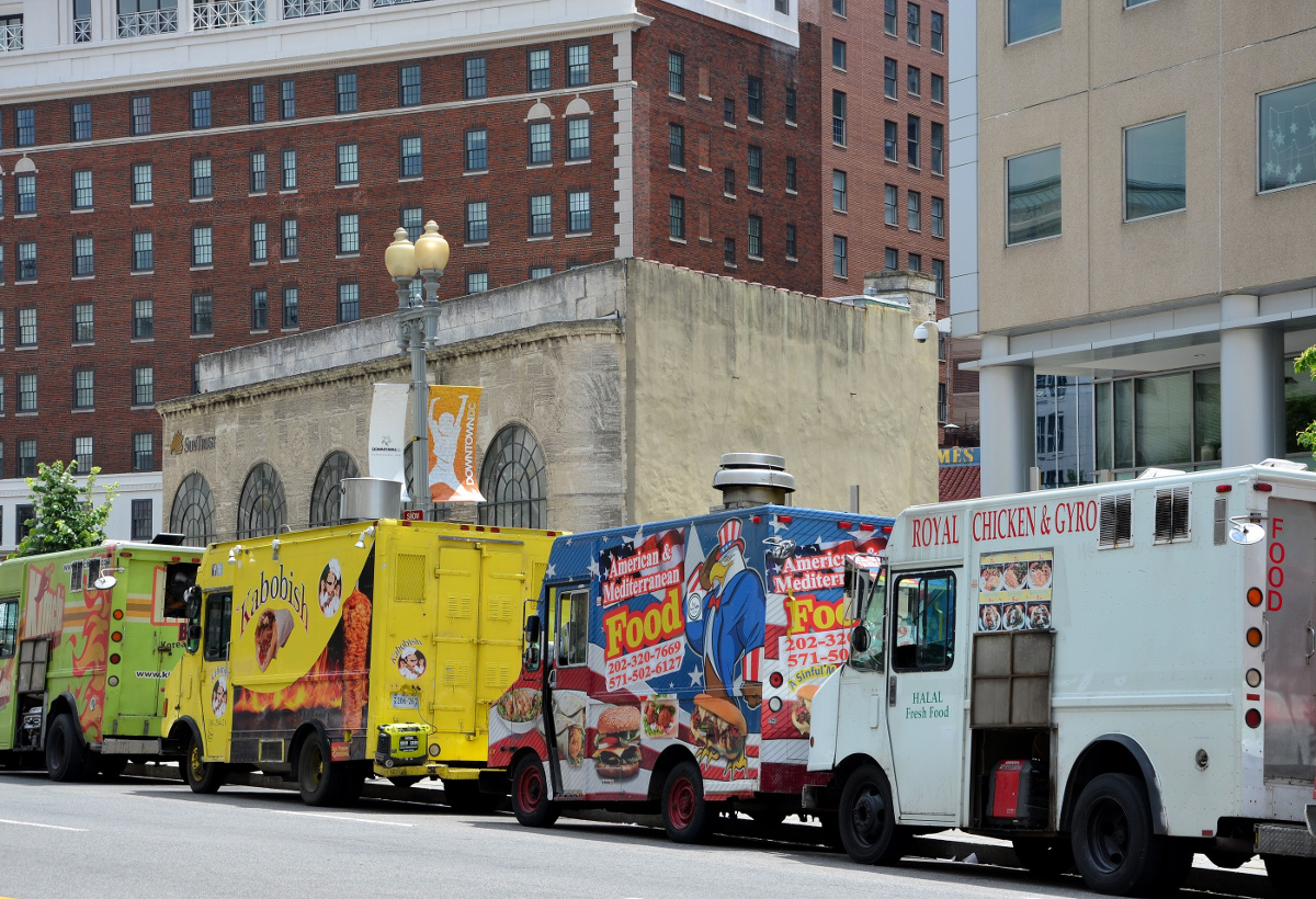 CMT Auctions Food Trucks in DC