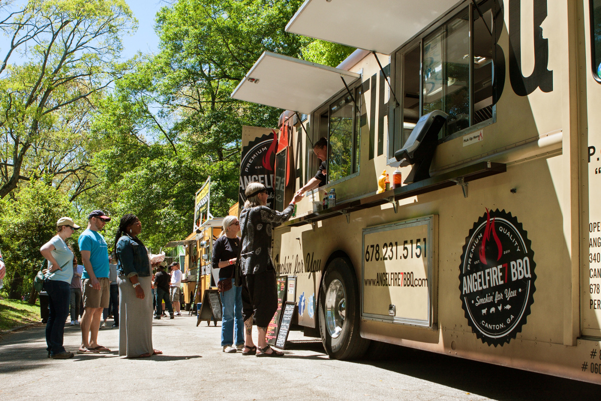 CMT Auctions Food Truck in ATL