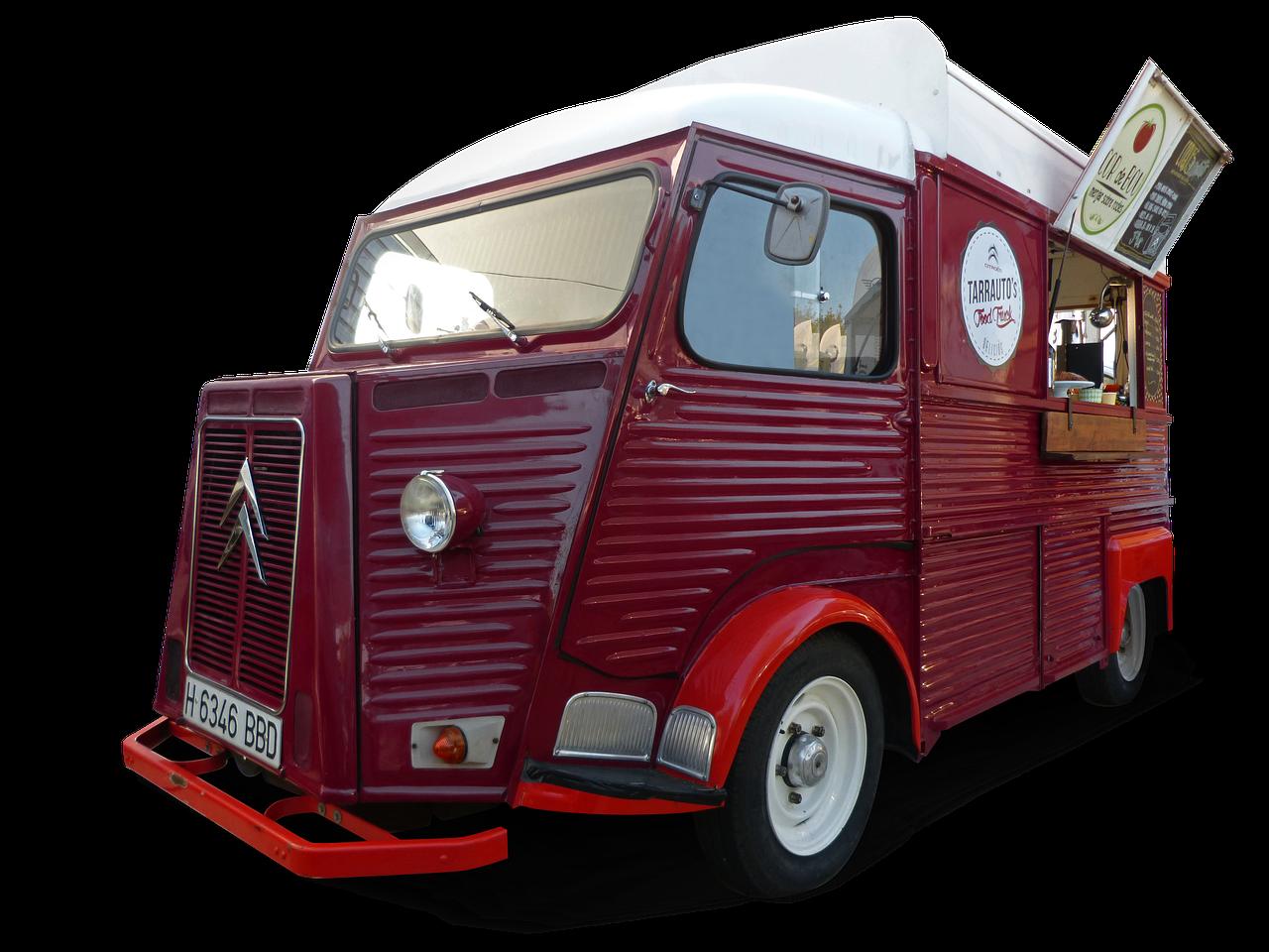 Food Truck Van With Unique Design